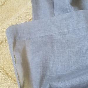 Pottery Barn Accents - Pottery Barn Semi-Sheer Linen-Look Curtain Panels